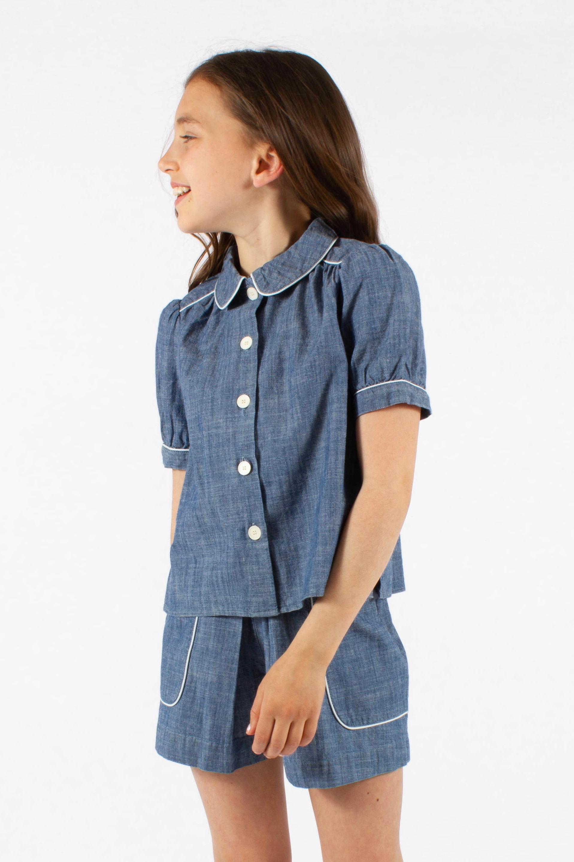 4885361fd8e4 Blus m krage » Barnkläder, Babykläder och Barnskor online » Lucca.se