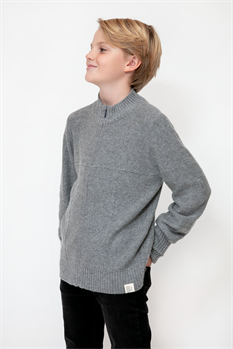 Cardigan Zip (Antracit)