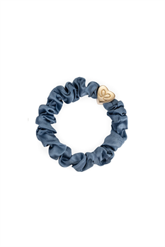Hårsnodd Scrunchie (Denim)