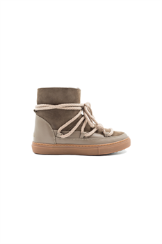 Kids Classic Sneaker (Taupe)