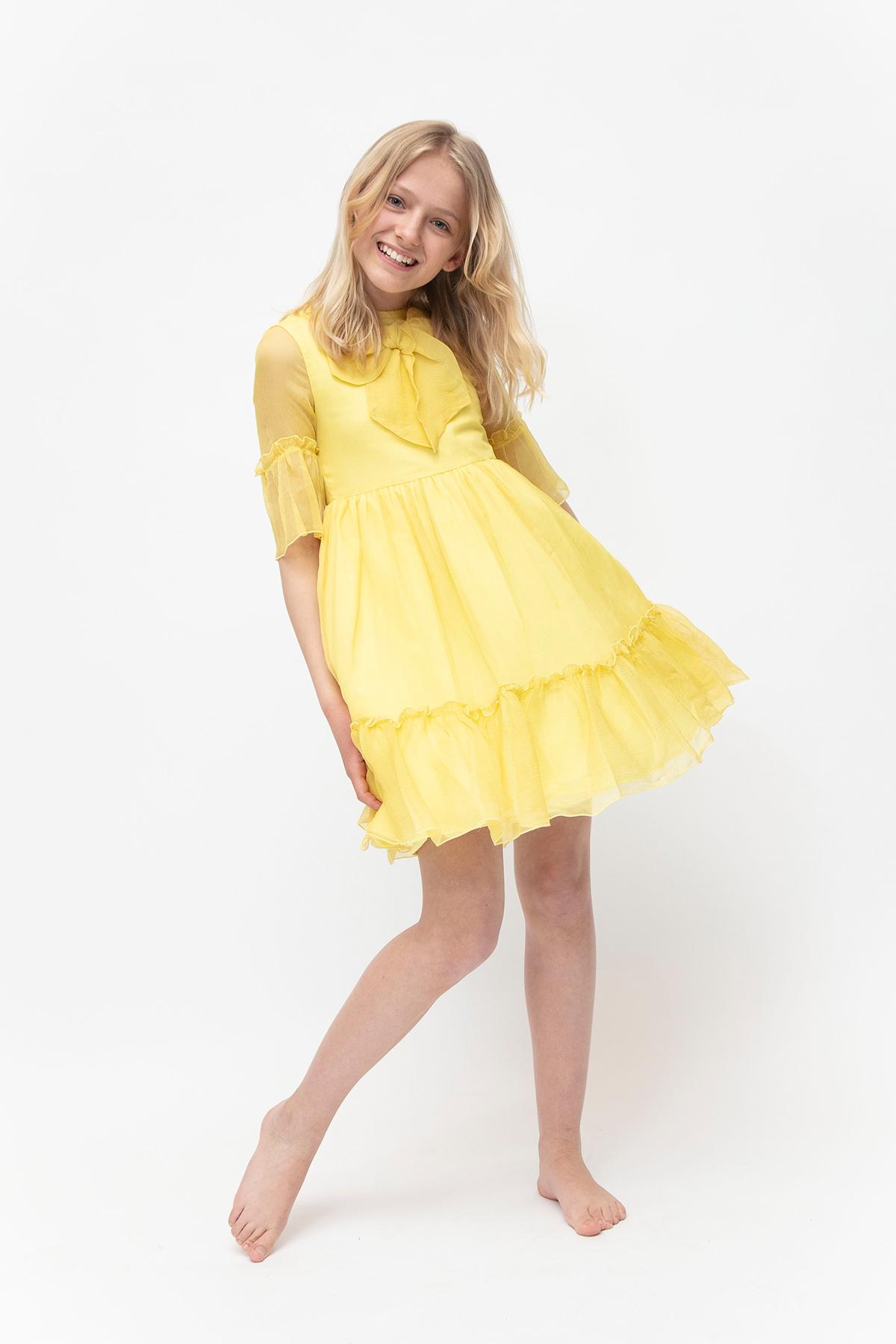 Klänning Rosetter » Barnkläder, Babykläder och Barnskor
