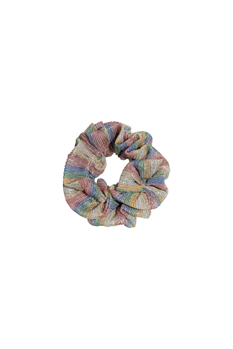 Scrunchie  (Rainbow Stripe)