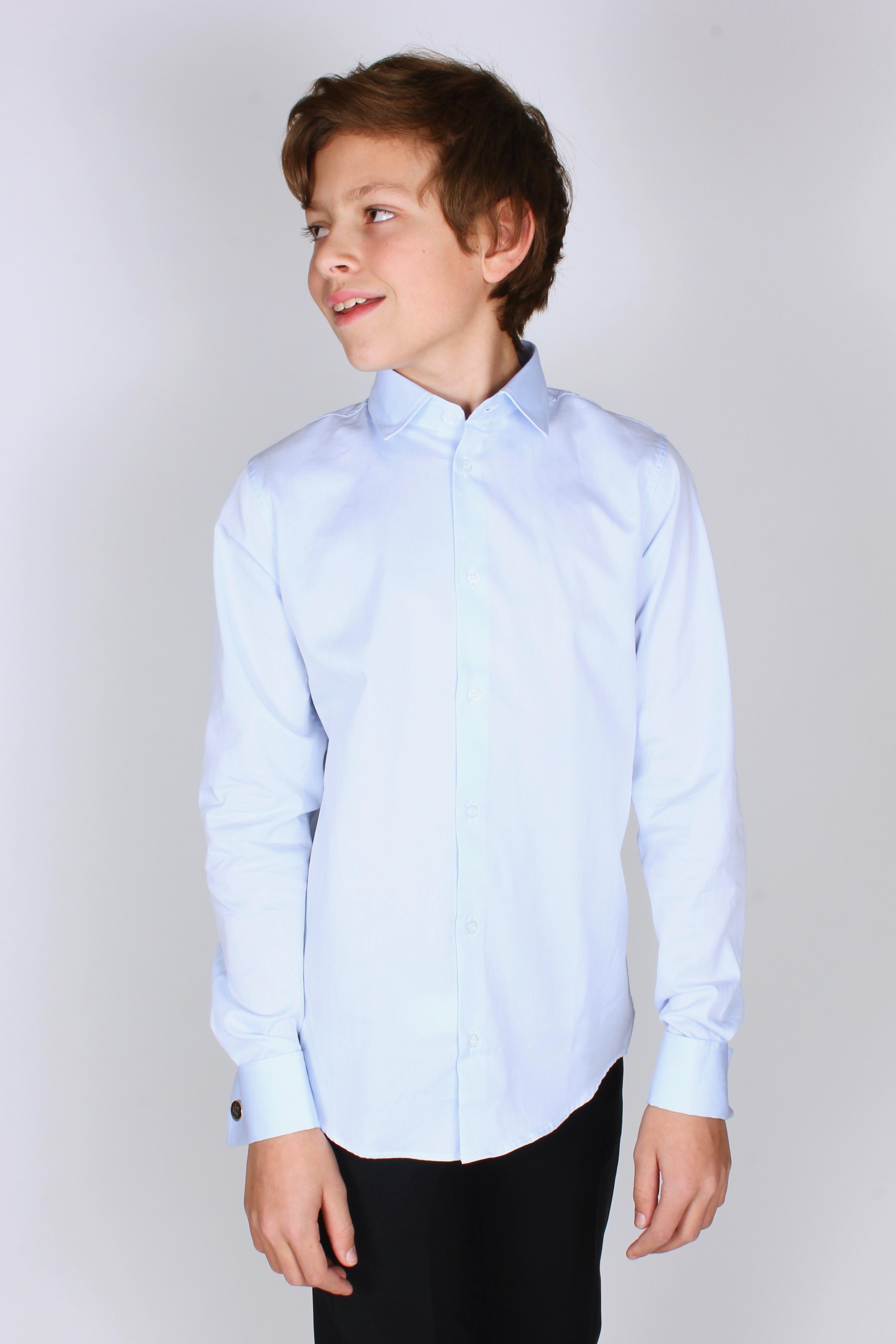 Skjorta med manschett » Barnkläder c3b6840eef370