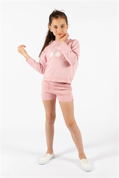 Sweatshirt Shorts (Rosa)