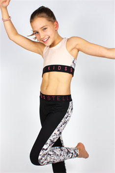 Tula sporty leggings - Svart